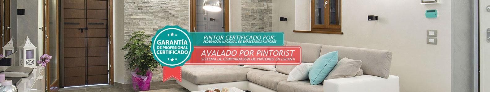 Pintor certificado en la ciudad de Pamplona
