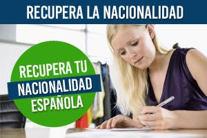 Recuperar nacionalidad española zaragoza