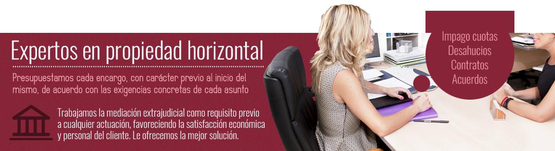 Despacho especializado en propiedad horizontal y administración de fincas en Zaragoza