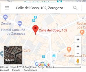 Encuéntrenos en Coso, 102, Zaragoza