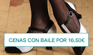 Cenas con baile por 16,50 euros en Zaragoza