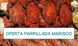 Oferta parrillada de mariscos para 2 por 39€