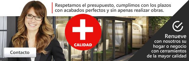 Cerramientos en Zaragoza con acabados perfectos y sin apenas obras