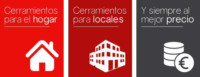 Cerramientos y acristalamientos de interiores en Zaragoza