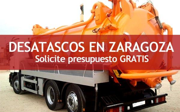 Desatascos en Zaragoza
