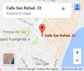 Localización en Fuengirola