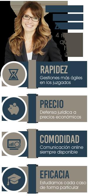 Servicios profesionles especializados en Derecho Penal en Zaragoza