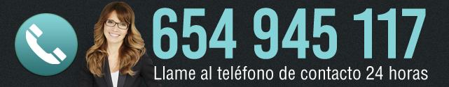 Llame ahora a nuestro servicio de atención 24 horas