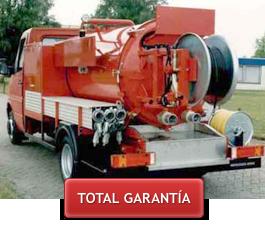 Desatascos y limpiezas con agua a presión en Castellón