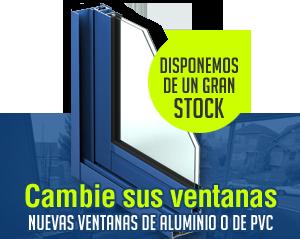 Gran Stock Ventanas Aluminio empresa Cerramientos Sevilla