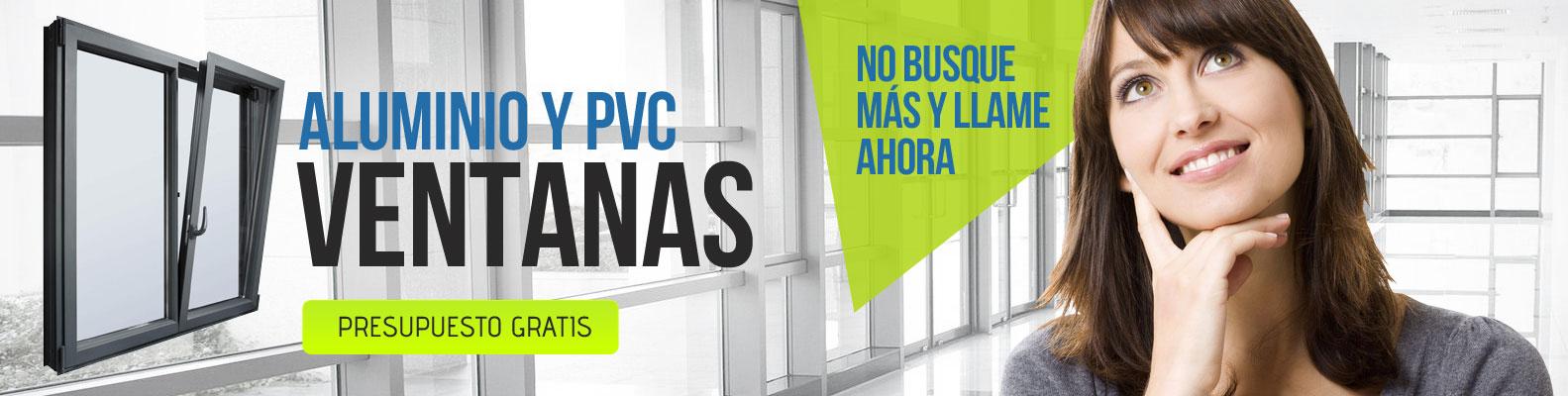 Ventanas de aluminio y pvc en Sevilla