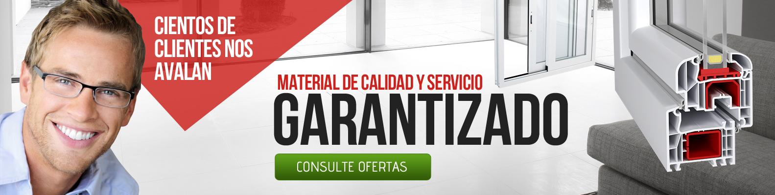 Calidad y servicio garantizados