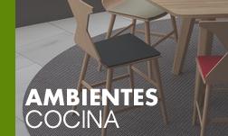 Acceso sección ambientes de cocina