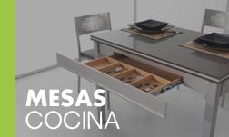 Acceso sección mesas de cocina